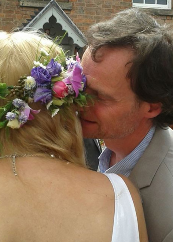 Tender moment, woodland themm wedding, bridal floral crown